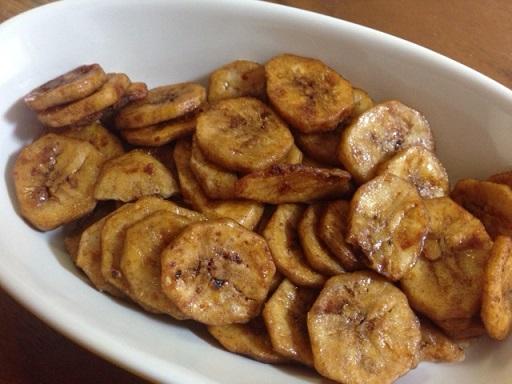 黒糖バナナチップの方が私は好きだなぁ