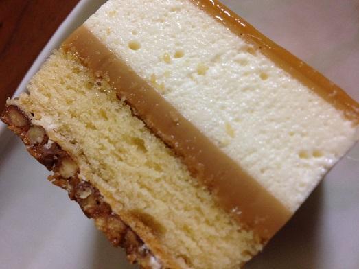 今まで味わったことのないケーキでした