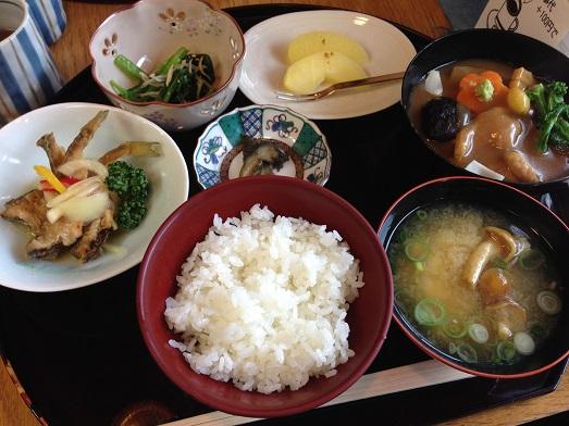 治部煮御膳(1500円)