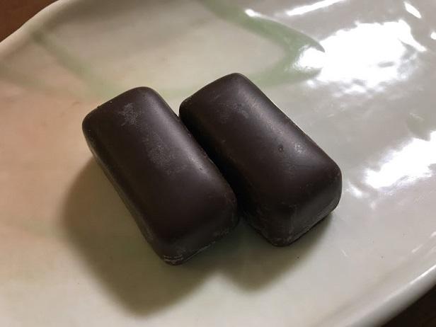 一見普通のチョコレートだが・・・・・