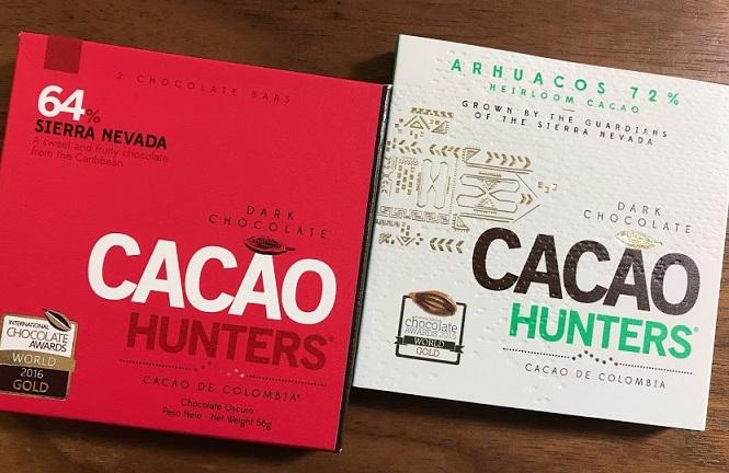 カカオハンターのチョコレートに挑戦です