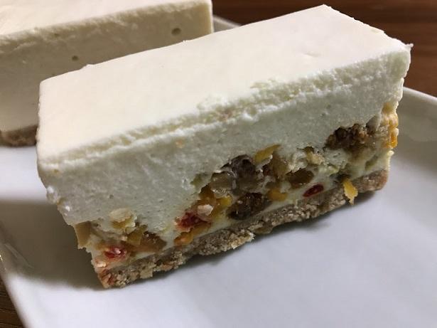 ドライフルーツのレアチーズケーキ【定番】
