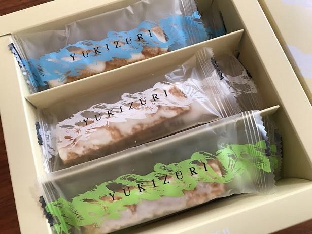 YUKIZURIは金沢の定番のお土産