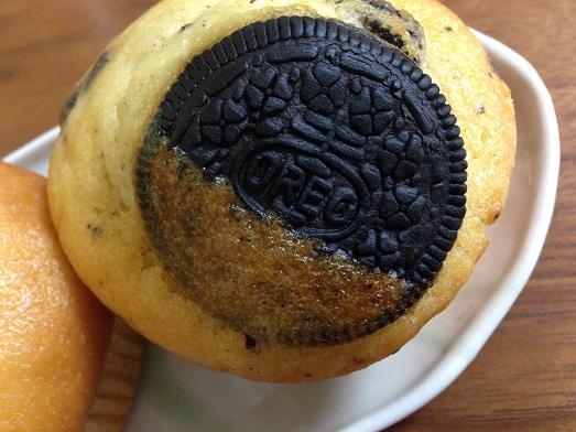 本当にクッキーがのっている