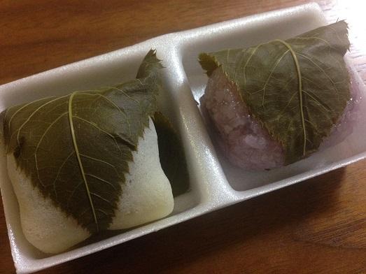 桜餅は、2種類ある、道明寺と長命寺