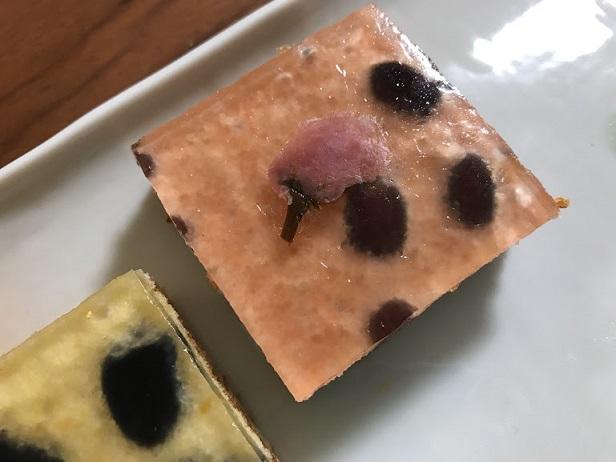 わらび餅のバウム【桜】