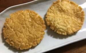(左)小倉名月甘醤油仕立て (右)小倉名月うす塩仕立て