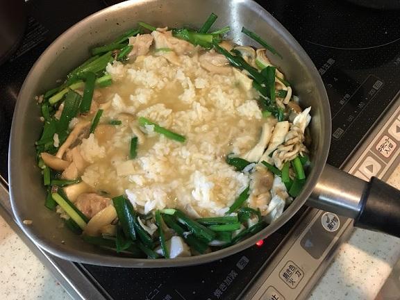 雑炊を作らなくては!!