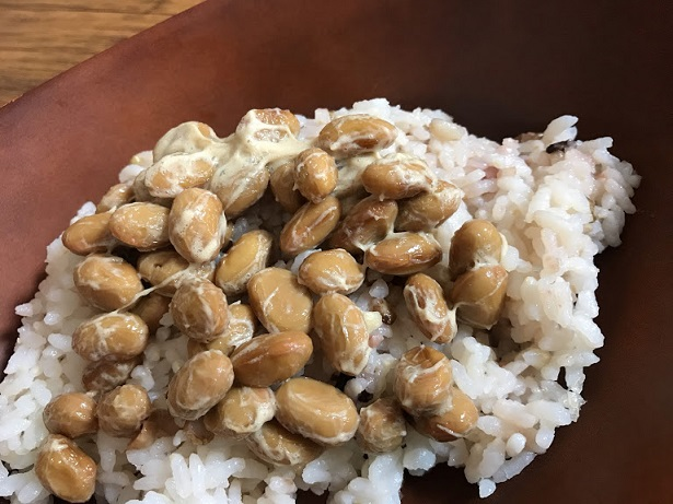 おいしい納豆をお取り寄せできてうれしい