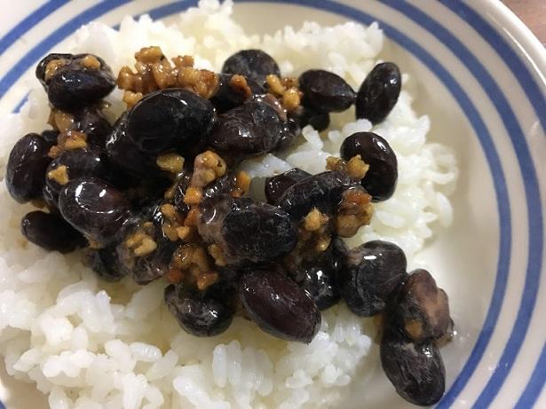 納豆に食べるオリーブオイルもいい