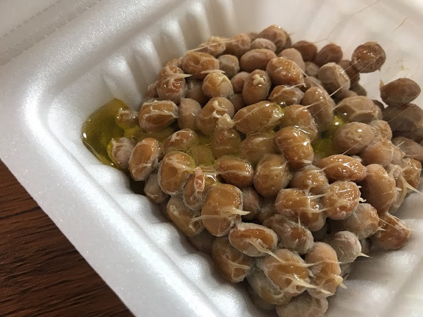 納豆にオリーブオイルは定番