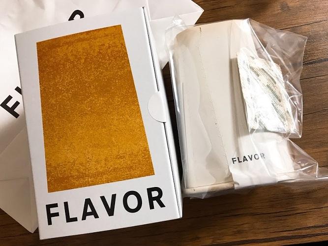 フレイバーのシフォンケーキをプレゼント