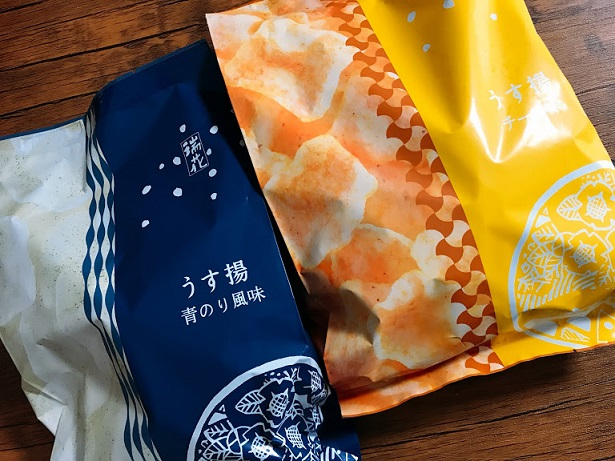 【うす揚げ】チーズ味、青のり味