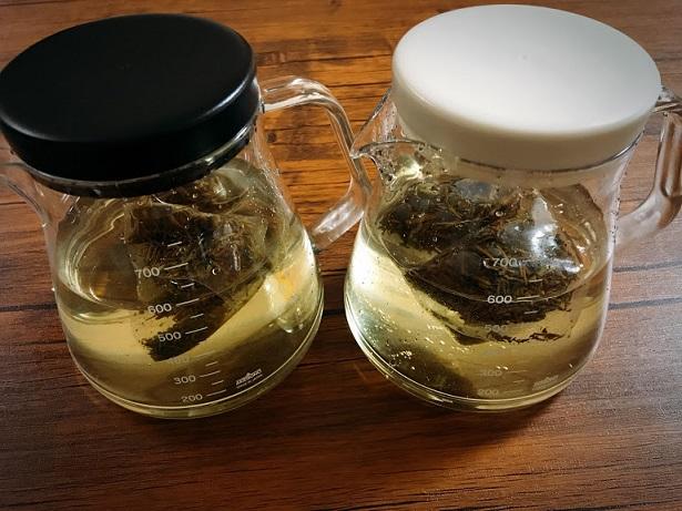今、水出しのお茶にはまっている