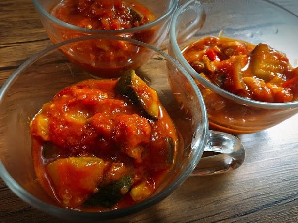 南仏野菜とチキンのラタトゥイユ