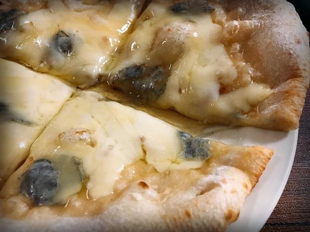 ブルーチーズのくせと蜂蜜の甘さ